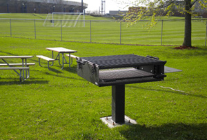 New BBQ Grill next to Field U-2