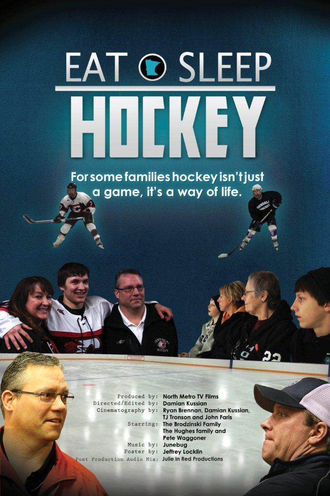 Eat Sleep Hockey Poster (2)